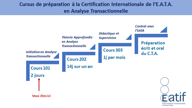 Formations Analyse Transactionnelle : Cursus de Préparation à la Certification Internationale de l'E.A.TA. en Analyse Transactionnelle