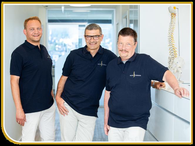 v.l.n.r.: Dr. med. Abdi Afsah und Michael-J. Melzer