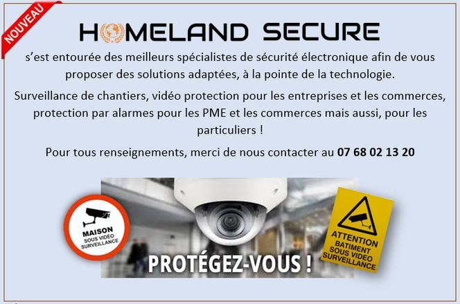 homeland secure agence agent de securite surveillance alarme videosurveillance camera ip