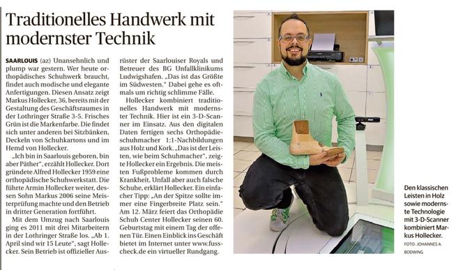 Saarbrücker Zeitung 03/2019