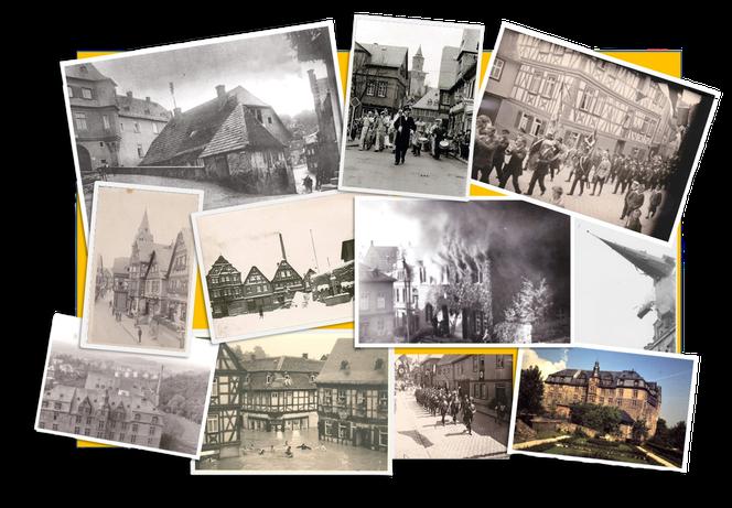 Idstein, Historische Fotos, Hexenturm, Historische Galerie Idstein, Zeitdokumente Idstein, Alt-dstein
