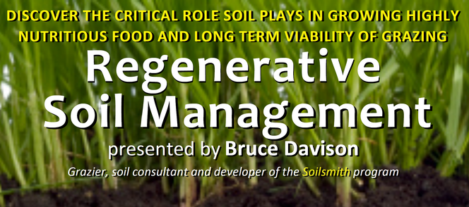 Regenerative Soil Management workshop - organised by Sage Education