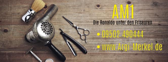 www.Argi-Merkel.de - AM1 Ronaldo der Friseure - Friseur Frensdorf