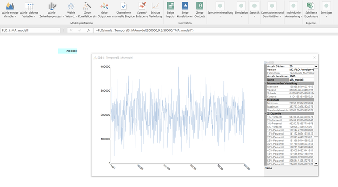Moving-Average modell excel einfach simulation