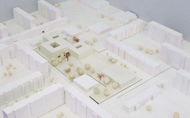 Modell des Siegerentwurfs © BSS Architekten