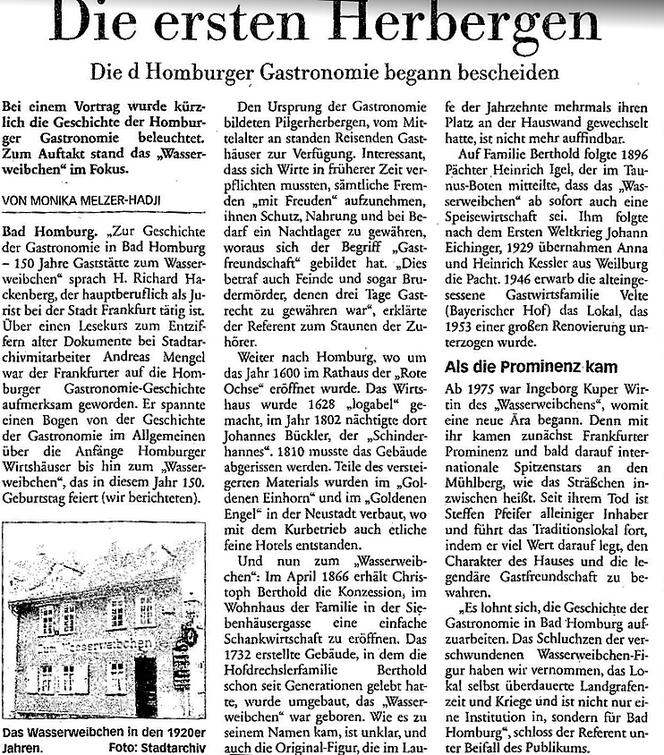 Taunus Zeitung 25.10.2016