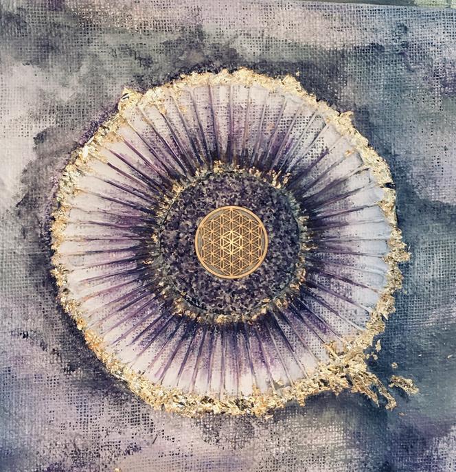 Blume des Lebens Harmonie energetisches Wohnen