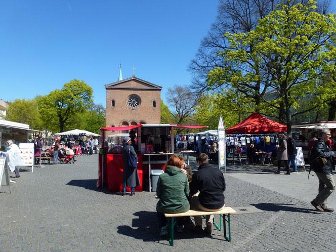 Leopoldplatz - Von Fridolin freudenfett - Wikimedia Commons - curid=48299402
