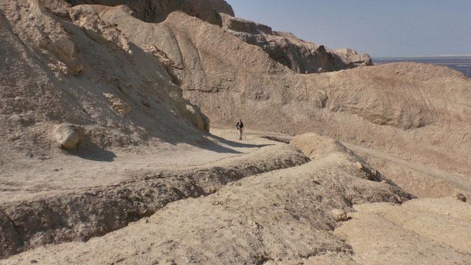 Walking trail of Sodom Mount