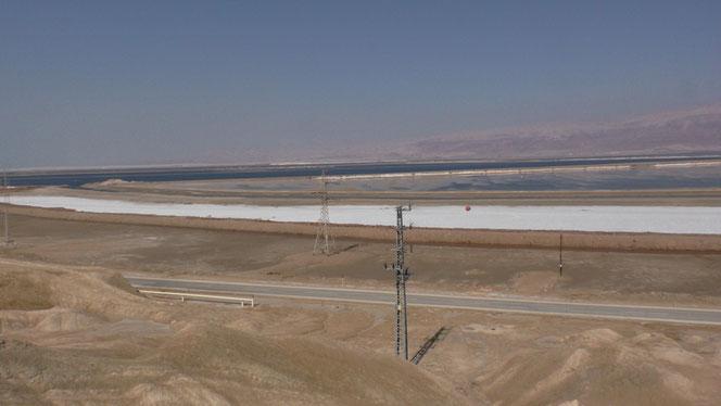 Dead Sea industrial area