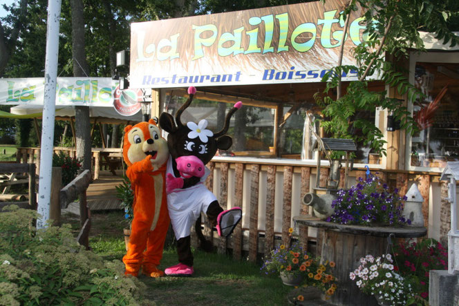 camping landes avec animations