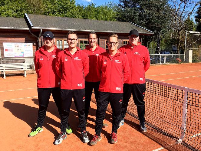 Herren 30, Sportfreunde Höhr-Grenzhausen, Dirk Gerharz, Florian Königs, Marcus Wagner, Florian Röhrig, Tim Spesser