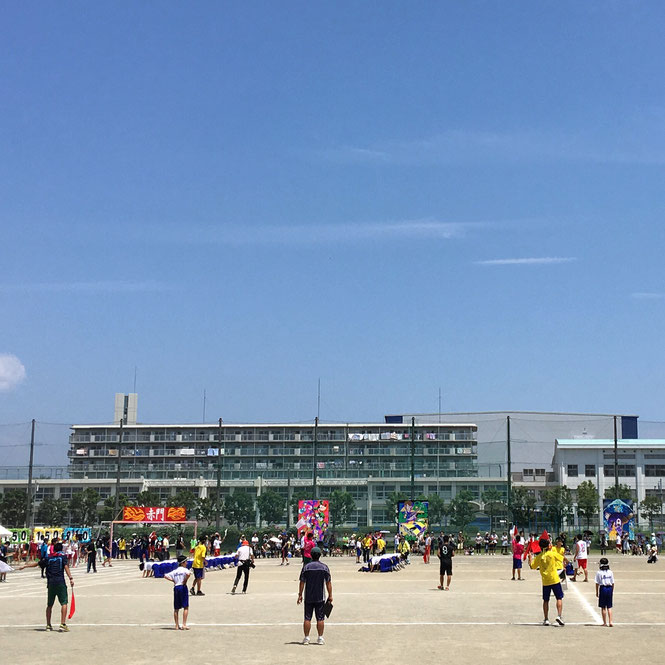 平塚中等教育学校の体育祭