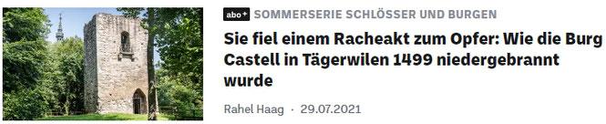 ein Artikel zum Thema aus dem Thurgauer Tagblatt