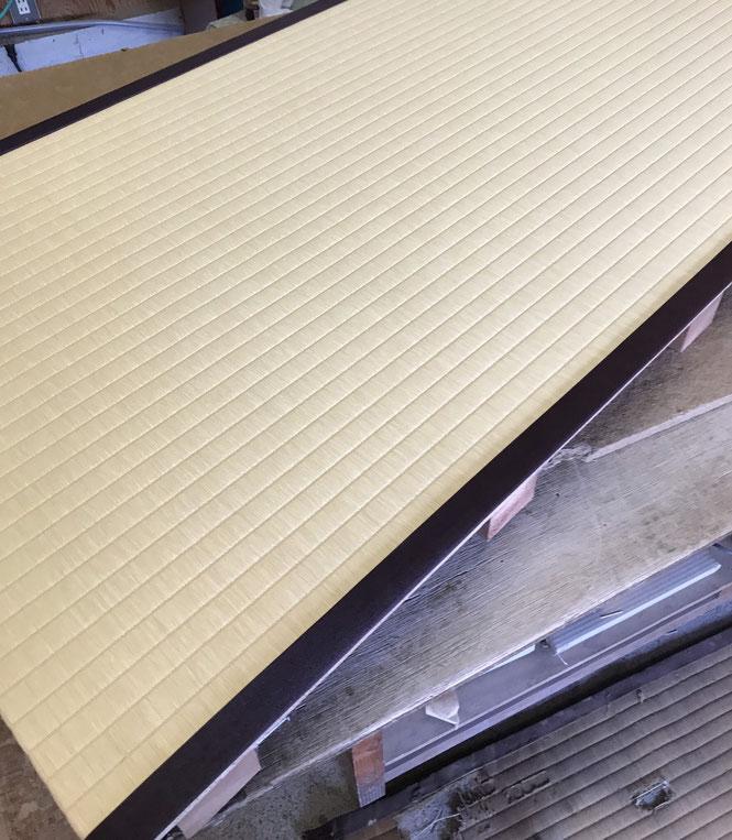 床の間の畳 完成品