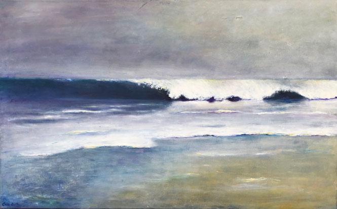 The Strand | Eitempera | 80x130 cm