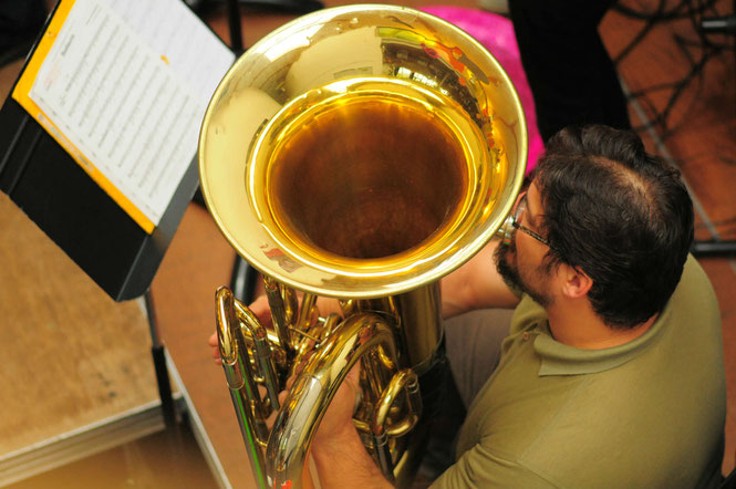 Ecole de musique EMC à Crolles – Grésivaudan : trombone en orchestre.
