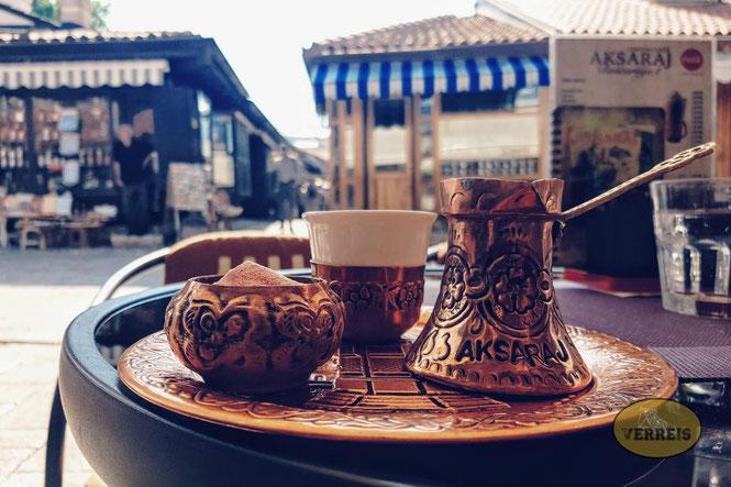Kaffee in Sarajevo