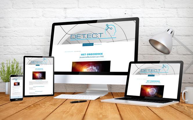Neue Homepage erstellt für die Radboud Klinik in Nijmegen Holland.