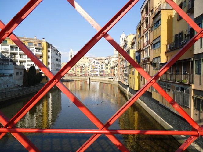 Мост Гюстава Эйфеля в Жироне