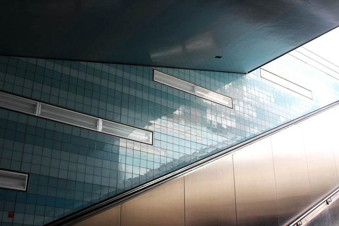 Überseequartier stairs