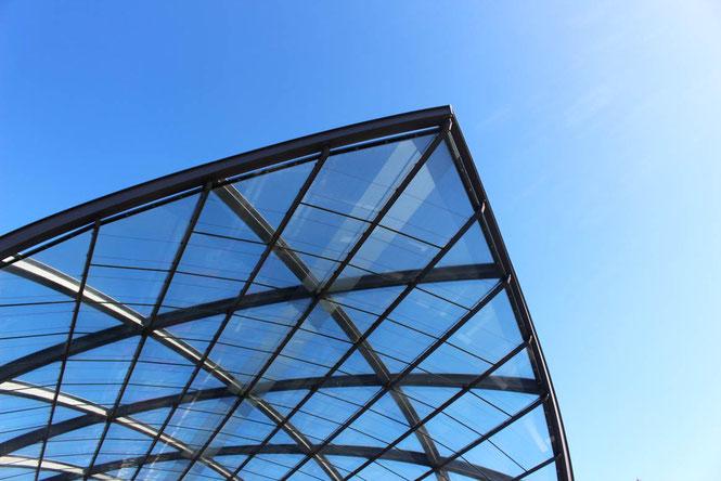 Elbbrücken Station roof