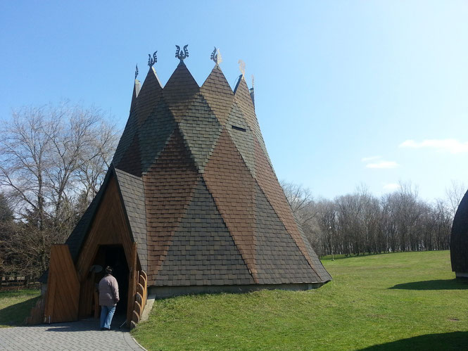 Museum mit 500-jähriger Baumscheibe