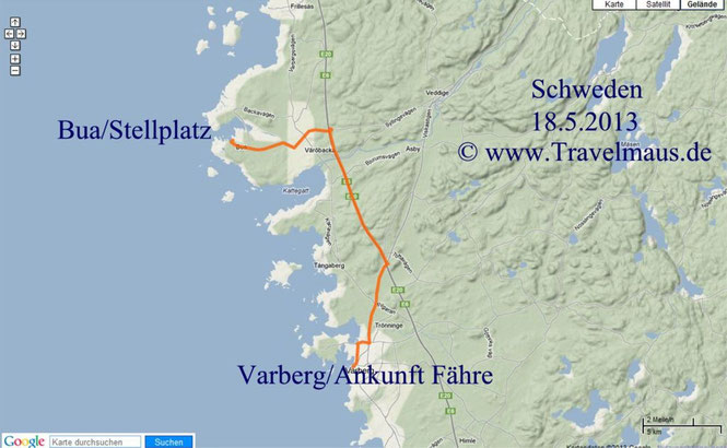 Ankunft Varberg, SP Bua
