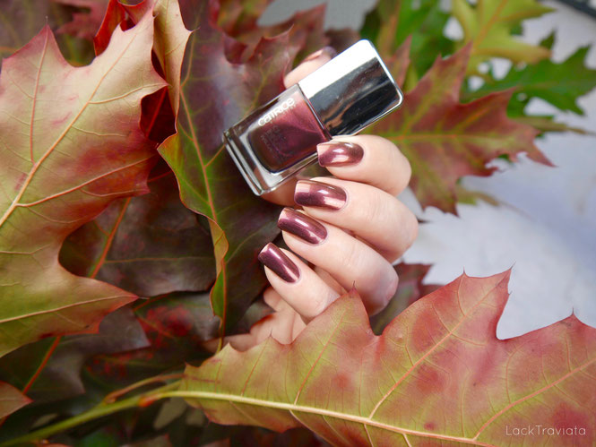 CATRICE • Unexpected Red 04 • Chrome Infusion Nail Lacquer