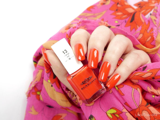 BERENICE • orange red 13 • Oxygen Nail Lacquer