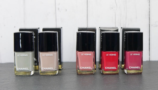 CHANEL • DÉROUTANT DEVIOUS • ROSE DES VENTS 143 • ENGLISH ROSE 205