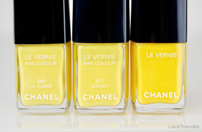 CHANEL • GIALLO NAPOLI 592 • Neapolis New City Collection (spring 2018)