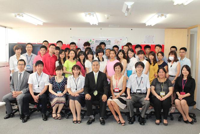 2013年7月生 入学式(美都里慕日本语学校)