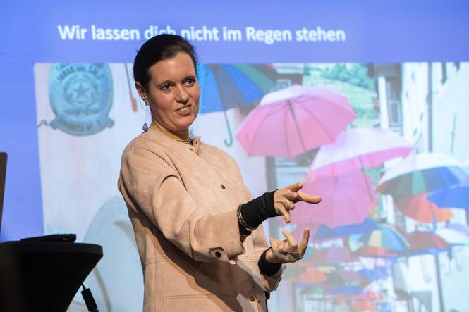 Geschäftsführerin Mag. Karin Klotzinger von City Marketing Austria