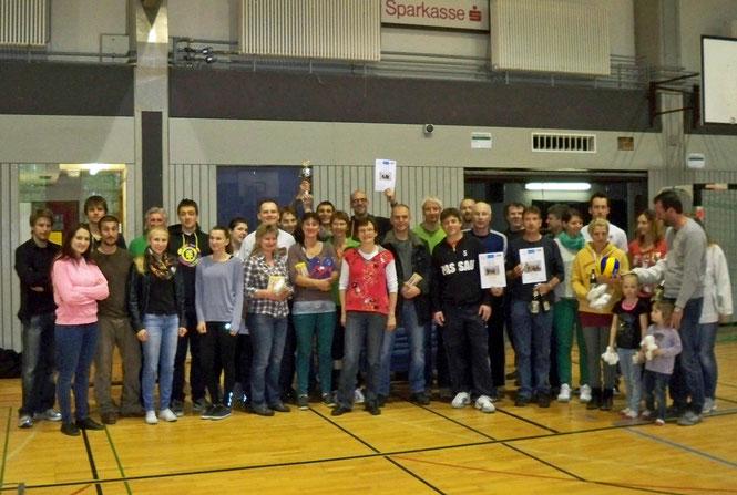 Alle Teilnehmer nach einem gelungenem Turnier