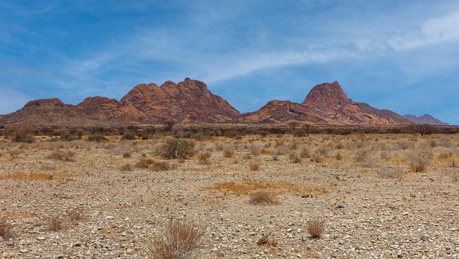 Horizon ocre, Namibie