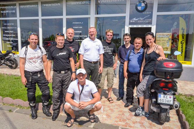 BMW Händler in Kosice/Slowakei