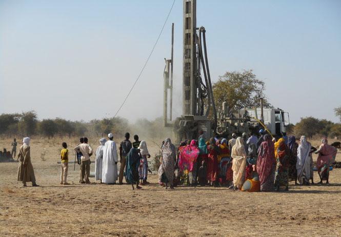 Exemple de forage en Afrique