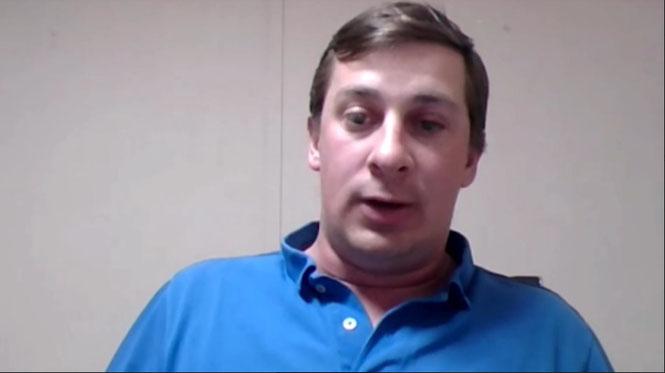 Jonathan Klimiuk, productor que habló sobre la situación del té misionero.