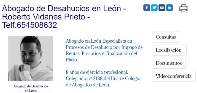 Abogada de Desahucios en León