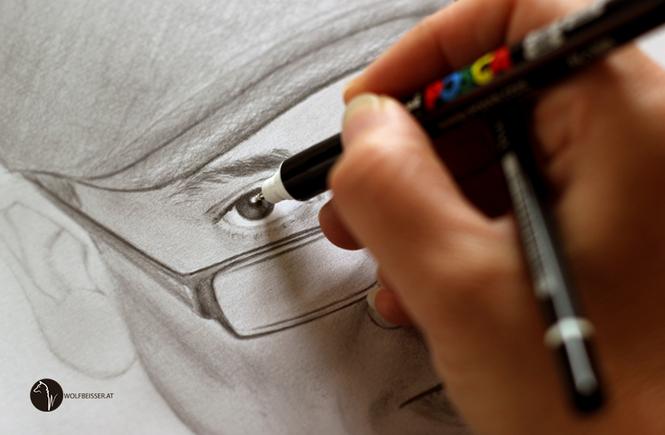 """Making of Portrait Xavier Naidoo #3 / Teil 3 ... jetzt noch der """"Feinschliff"""""""