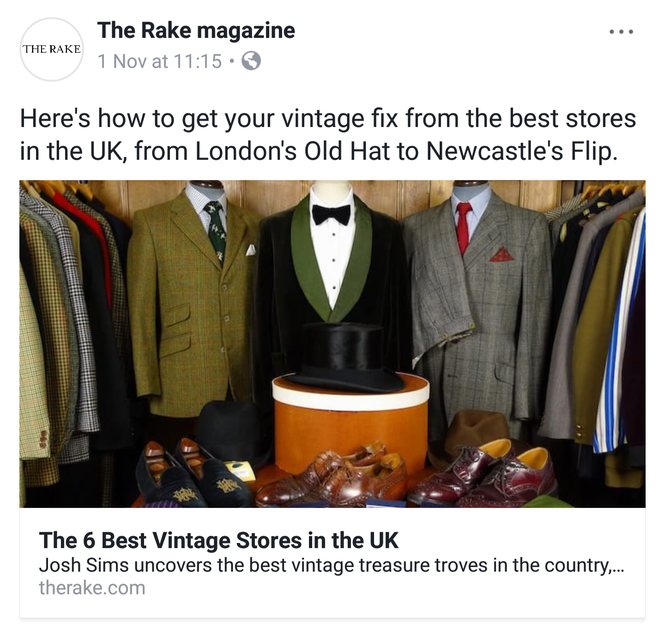 a6aaae6f Thanks to The Telegraph for the little mention of us on your 'Britain's best  vintage shops' piece