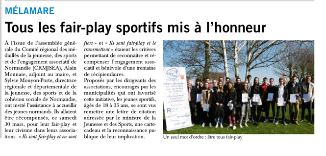 Journal PARIS NORMANDIE, 10 avril 2019