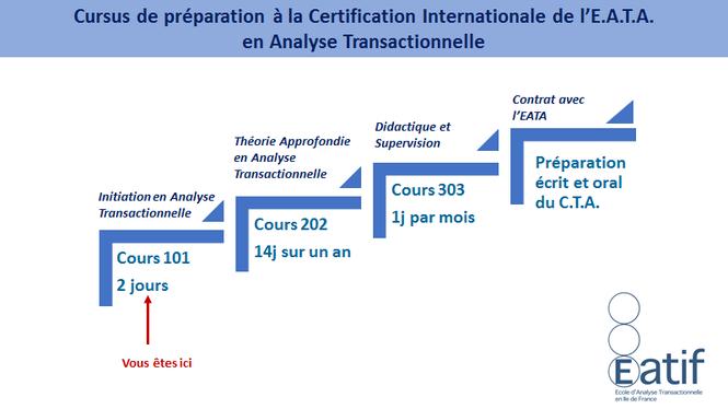 Formations Analyse Transactionnelle : Cursus de Préparation à la Certification Internationale de l'E.A.TA. en Analyse Transactionnelle