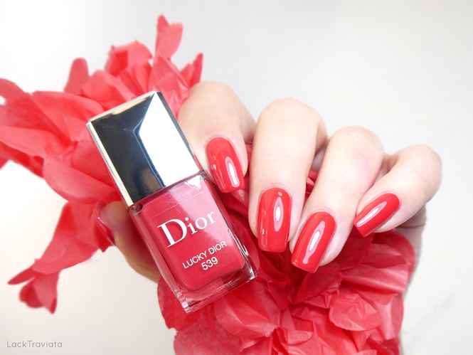 Dior • LUCKY DIOR 539 • Dior Addict Stellar Shine Collection (spring 2019)
