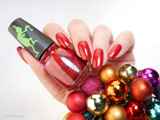 China Glaze • HO! HO! NO. • The Grinch Holiday Collection 2018