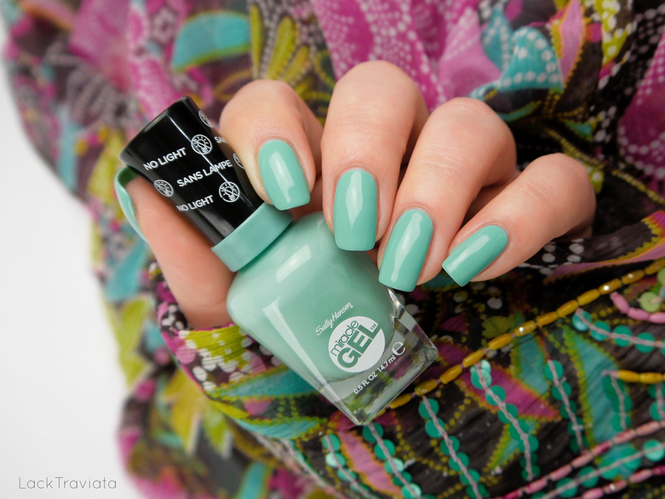 Sally Hansen • Prince Char-mint (754) • Travel Stories Collection Summer 2017 (miracle GEL)