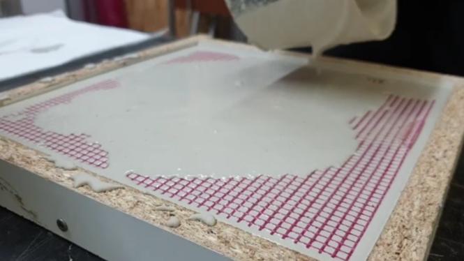 Terrazzo aus Glas selber herstellen