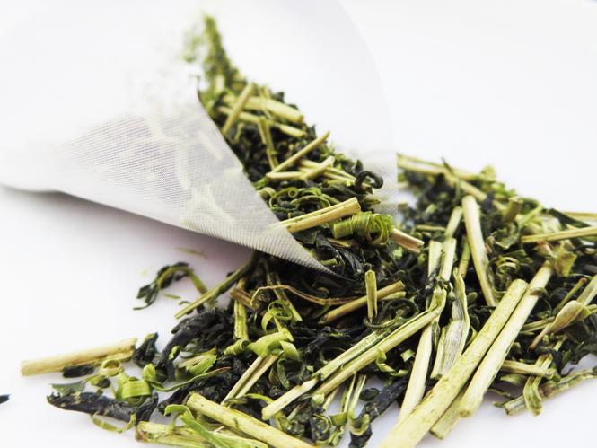 白折れ入り有機緑茶「大地」