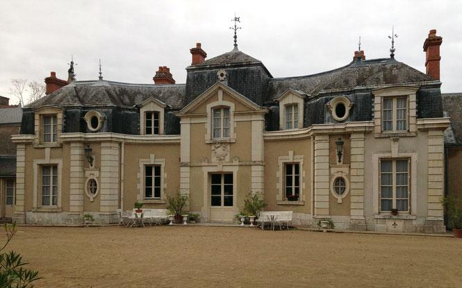 Château le Colliers an der Loire